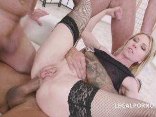 Порно видео с блондинкой-синдхой - двойное проникновение для нее было приятным
